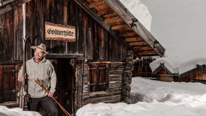 A mountain hut jamboree