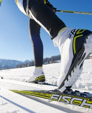 Nordic Skiing with stunning views