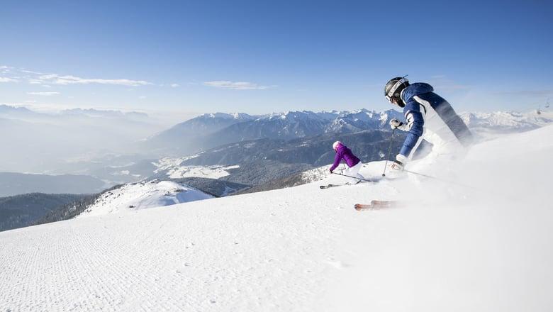 Skiing on the doorstep