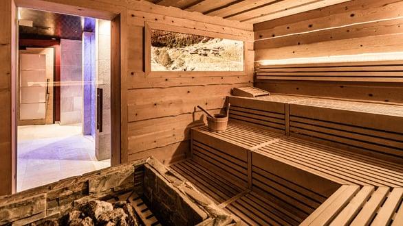 Organic spruce sauna