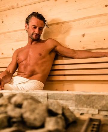 Sauna biologica in legno di abete rosso