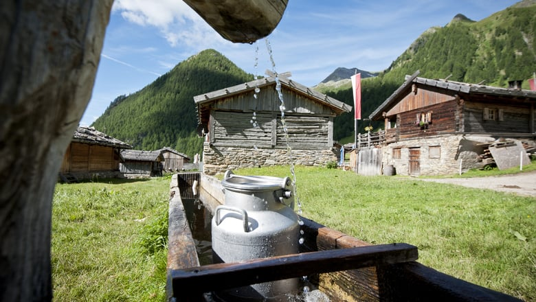 Milchweg Vals zur Fane Alm