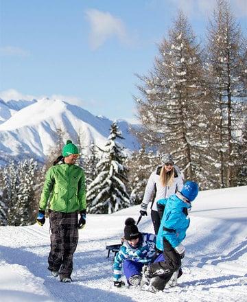 Piste da slittino, neve naturale e accoglienti rifugi