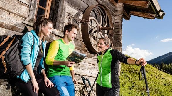 Jochtal - Stoanamandl and experience park