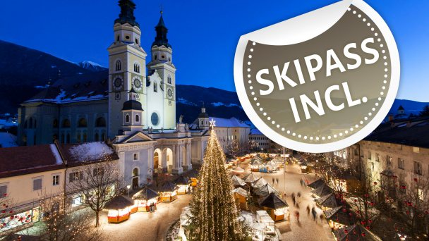 Advent offer 4=3 skipass incl.