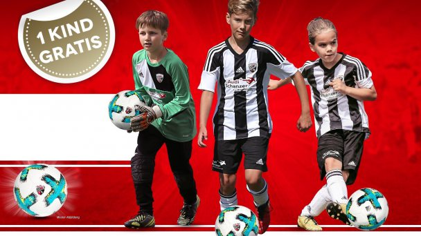 Südtirol-Fußballcamp für Kinder
