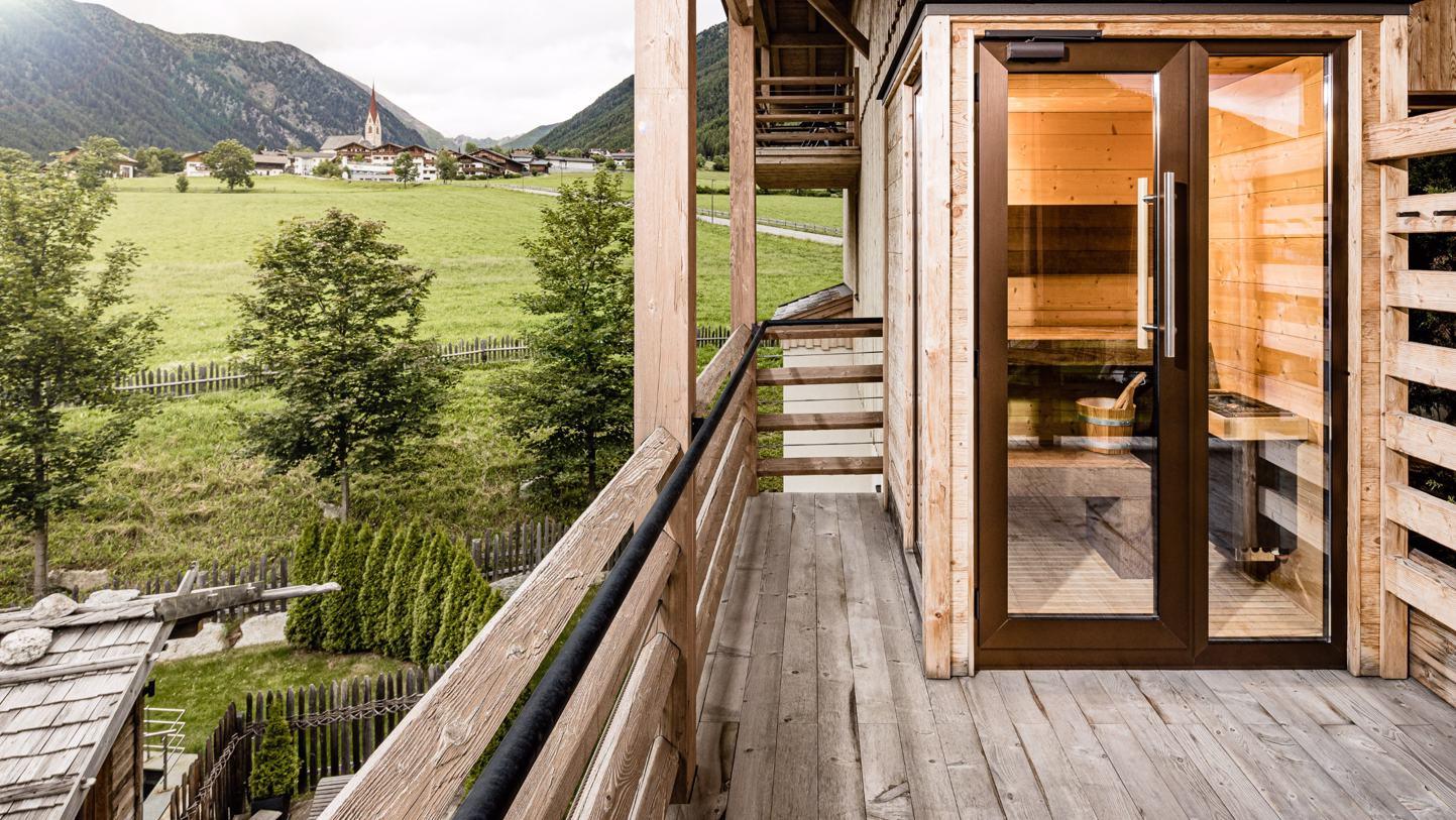 Suite Terrazza with sauna